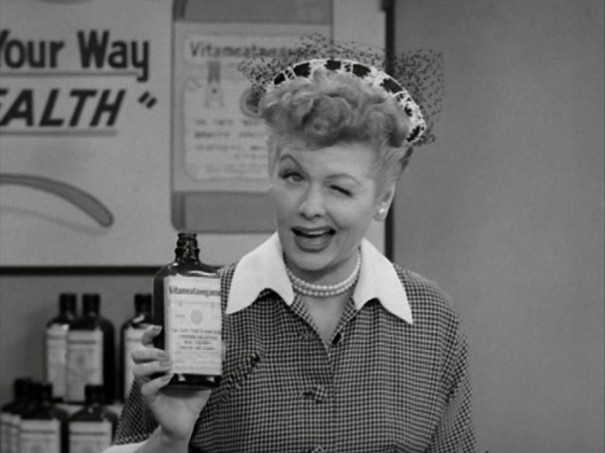 Here's to Lucy and Ethel!